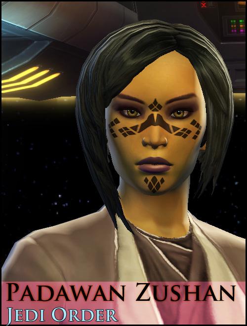 Zushan, Jedi Shadow